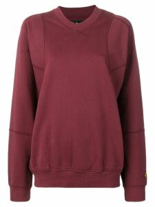 Vivienne Westwood Anglomania oversized sweatshirt - Red