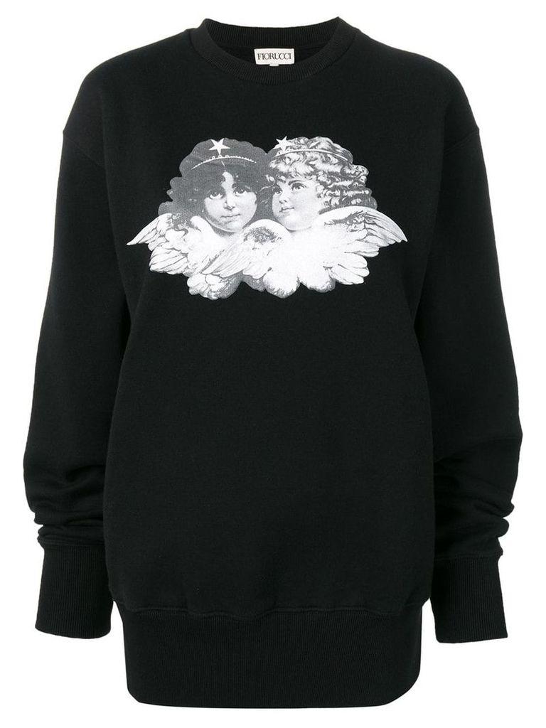 Fiorucci Susan sweatshirt - Black