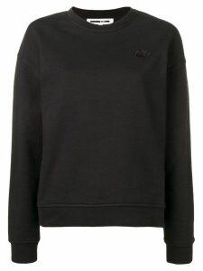McQ Alexander McQueen swallow patch sweatshirt - Black
