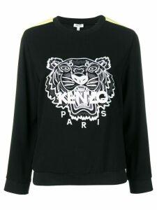 Kenzo Tiger panelled sweatshirt - Black