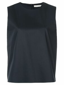 The Row cropped round neck top - Black