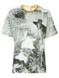 Nº21 printed T-shirt - White