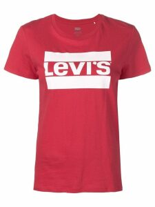 Levi's logo print T-shirt - Red