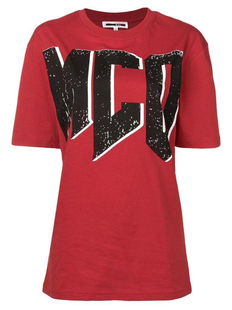 McQ Alexander McQueen logo T-shirt - Red