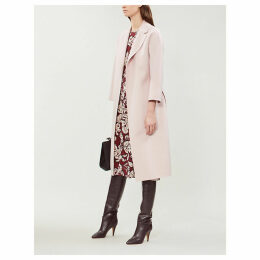 Esturia brushed wool coat