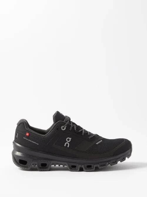 Acne Studios - Logo Print Checked Cotton Twill Scarf - Womens - Blue