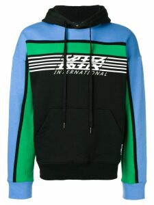 KTZ international logo hoodie - Black