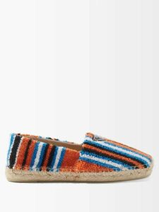 Valentino - Vltn Canvas Tote Bag - Womens - Black / Cream