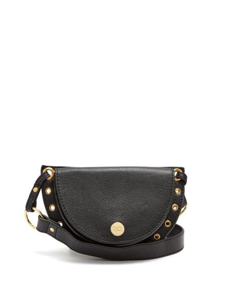 See By Chloé - Kriss Grained Leather Belt Bag - Womens - Black