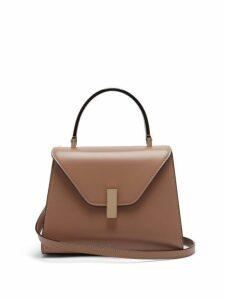 Valextra - Iside Mini Leather Bag - Womens - Beige