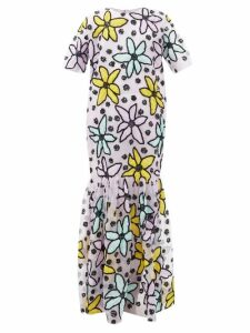 Pippa Holt - No.52 Embroidered Cotton Kaftan - Womens - Blue