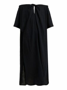 Mara Hoffman - Kamala Off Shoulder Dress - Womens - Black