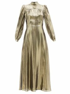 Loup Charmant - Fortuna Scoop Neck Cotton Dress - Womens - Pink
