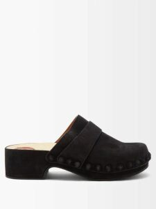 Loup Charmant - Ruffle Trim Cotton Midi Skirt - Womens - Light Yellow