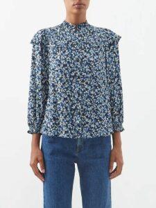 Zimmermann - Bowie Striped Cotton Blend Dress - Womens - Multi