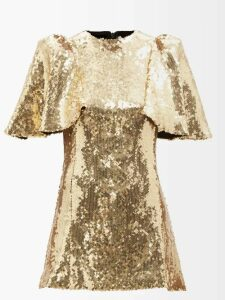 Loup Charmant - Patmos Tiered Cotton Dress - Womens - Red