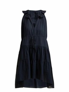 Loup Charmant - Patmos Organic Cotton Dress - Womens - Navy