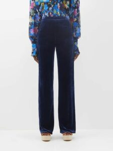 Albus Lumen - Silk Satin Midi Skirt - Womens - Brown