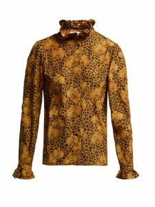 Borgo De Nor - Veronica Leopard Print Blouse - Womens - Leopard