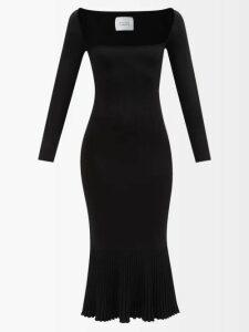 Galvan - Dusk Sequin Embellished Mini Dress - Womens - Navy