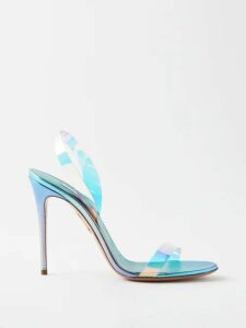 Dolce & Gabbana - Rose Print Single Breasted Silk Coat - Womens - Black Pink