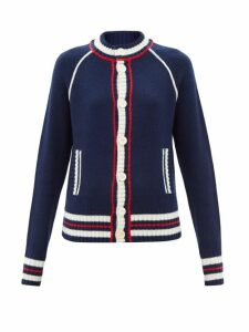 Joseph - Lista Tie Waist Wool Blend Coat - Womens - Black