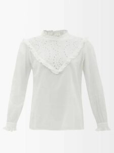 Peter Pilotto - Tiered Floral Fil Coupé Cloqué Gown - Womens - Pink Multi