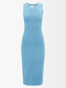 Giuliva Heritage Collection - The Mary Angel Linen Midi Dress - Womens - Khaki