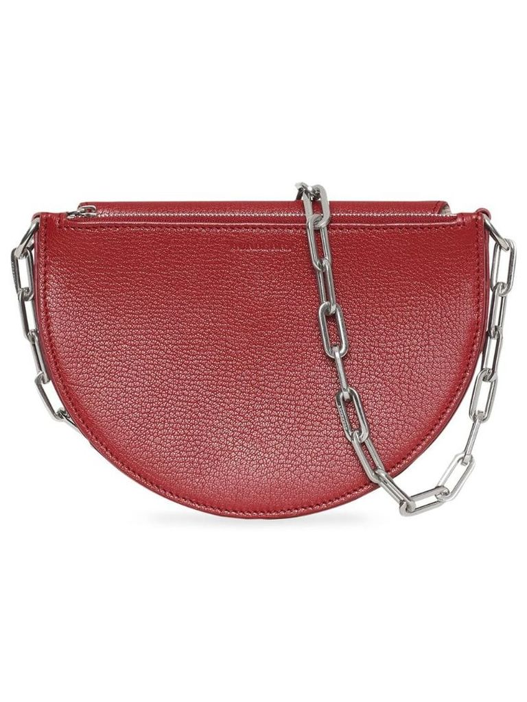 Burberry The Small Leather D Bag - Red
