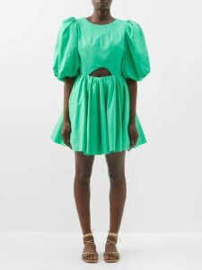 A.p.c. - Joe High Rise Denim Midi Skirt - Womens - Indigo
