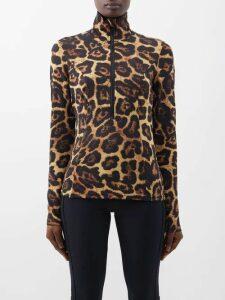 Missoni - Striped Pleated Cotton Skirt - Womens - Multi Stripe