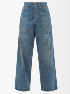 Missoni - Ribbed Knit Lamé Skirt - Womens - Light Pink