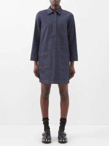 Diane Von Furstenberg - Darcey Tiger Lily Print Metallic Wrap Dress - Womens - Green Print