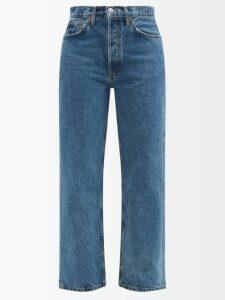 Carolina Herrera - Striped Off The Shoulder Knitted Midi Dress - Womens - White Multi