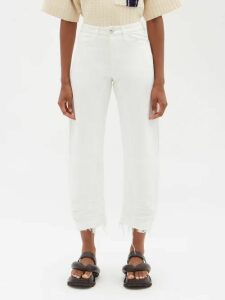 Mr & Mrs Italy - Fox Fur Hooded Parka - Womens - Black Blue