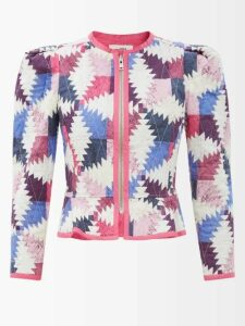 Mr & Mrs Italy - Hooded Padded Parka Coat - Womens - Green