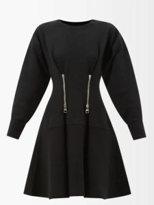 Golden Goose - Single Breasted Wool Trench Coat - Womens - Black