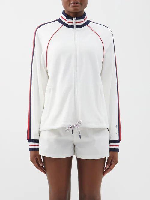Proenza Schouler Pswl - Pswl Tie Die Trench Coat - Womens - Black Multi