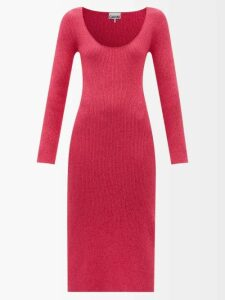 Giuliva Heritage Collection - The Christie Lana Double-breasted Wool Trench Coat - Womens - Brown
