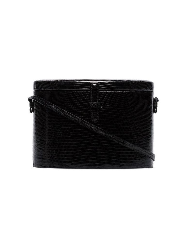 Hunting Season black Trunk lizard box bag
