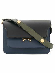 Marni Trunk shoulder bag small - Blue