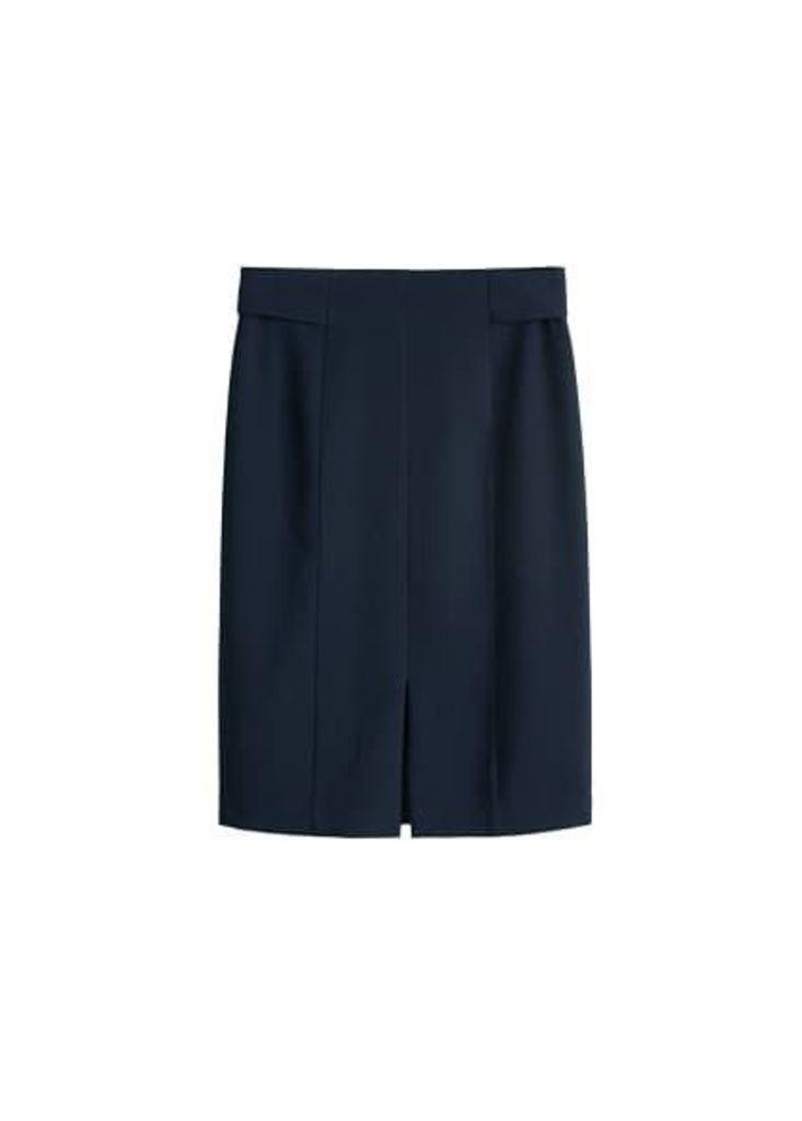 Cut-out detail skirt