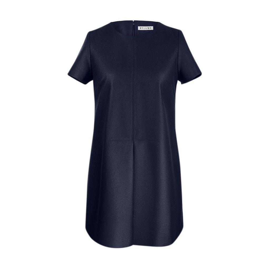 BYLUMA - Evase Dress Navy