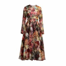MATSOUR'I - Silk Dress Flora