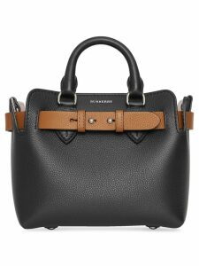 Burberry Mini Leather Belt Bag - Black