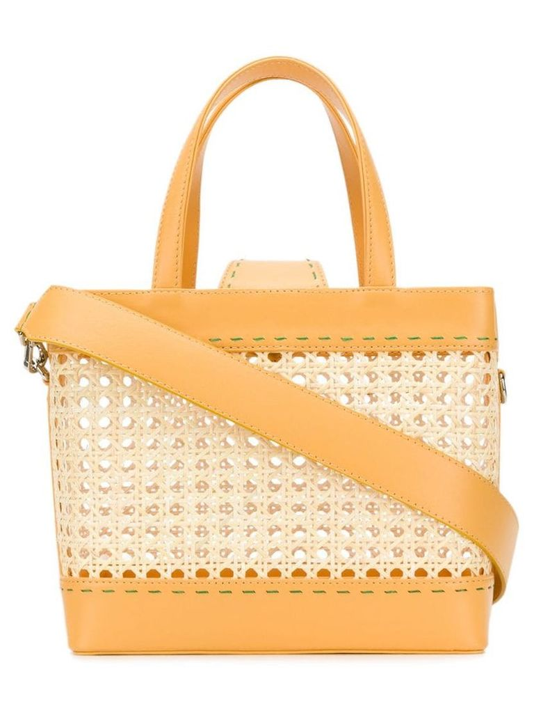 Mehry Mu Rey tote bag - Yellow