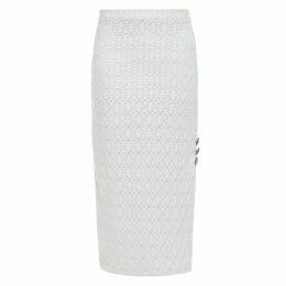 ELLESD - Sky Blue Suede T-Shirt