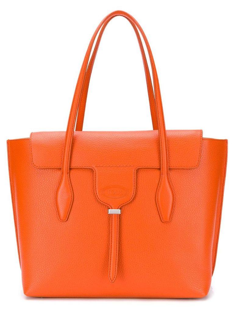 Tod's Joy medium tote - Orange