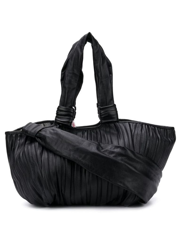 Max Mara large pleated tote - Black