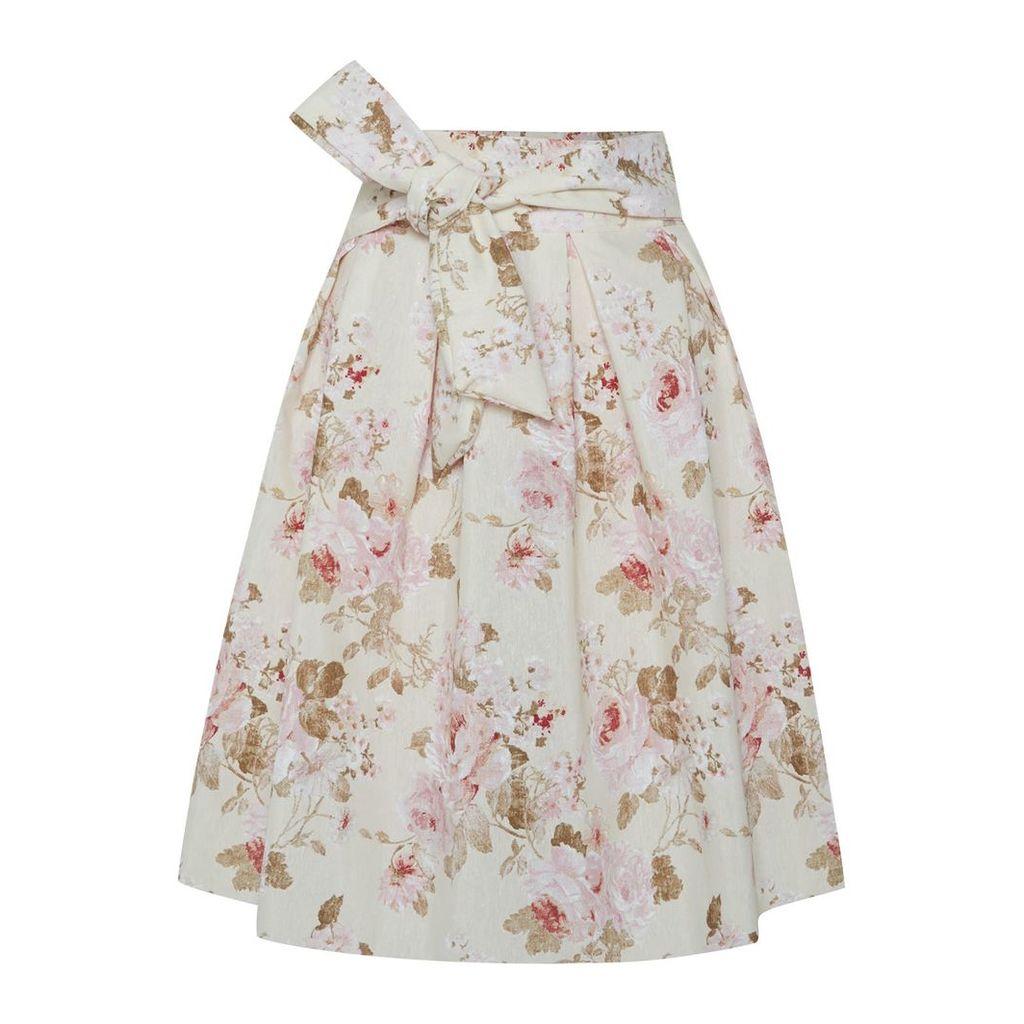 Menashion - Wrap Skirt No. 903 Roses